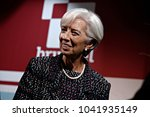 managing director of the imf...   Shutterstock . vector #1041935149