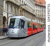 prague  czech republic   may 7  ... | Shutterstock . vector #1041950731