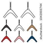 pet harness vector illustration ... | Shutterstock .eps vector #1042003744