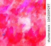 a digital watercolor paint...   Shutterstock . vector #1042009297
