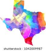 an artistically created texas...   Shutterstock . vector #1042009987