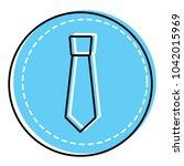 retro label fashion necktie for ...   Shutterstock .eps vector #1042015969