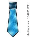 clothing necktie element...   Shutterstock .eps vector #1042017241