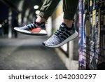 milan  italy   february 02 ... | Shutterstock . vector #1042030297