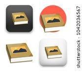 flat vector icon   illustration ... | Shutterstock .eps vector #1042036567