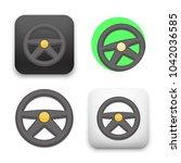 flat vector icon   illustration ... | Shutterstock .eps vector #1042036585