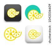 flat vector icon   illustration ... | Shutterstock .eps vector #1042036609