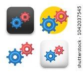flat vector icon   illustration ...   Shutterstock .eps vector #1042037545