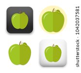 flat vector icon   illustration ... | Shutterstock .eps vector #1042037581