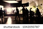 behind the scenes or the making ... | Shutterstock . vector #1042050787