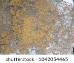 zinc rust closeup  metal rust... | Shutterstock . vector #1042054465