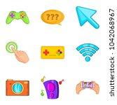 program development icons set....