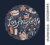 hand drawn illustration of loas ...   Shutterstock .eps vector #1042084495