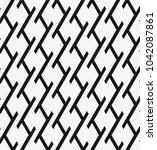 vector seamless pattern.... | Shutterstock .eps vector #1042087861