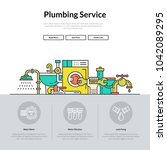 one page layout for plumbing...