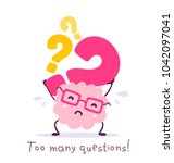 vector illustration of pink... | Shutterstock .eps vector #1042097041
