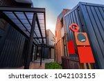 view in porto go bang in new... | Shutterstock . vector #1042103155