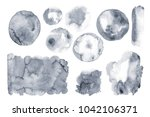 unique washed background. hand...   Shutterstock . vector #1042106371