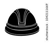 helmet flat icon | Shutterstock .eps vector #1042111669
