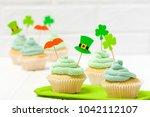 st. patrick's day theme... | Shutterstock . vector #1042112107