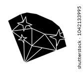 Diamond Stone Icon   Vector...