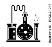laboratory tubes icon | Shutterstock .eps vector #1042134049