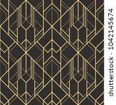 vector modern geometric tiles... | Shutterstock .eps vector #1042145674