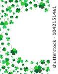 saint patricks day background...   Shutterstock .eps vector #1042151461
