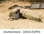 accra  ghana   december 30 ... | Shutterstock . vector #1042152991