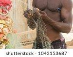 accra  ghana   december 30 ... | Shutterstock . vector #1042153687
