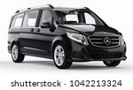 Black Mercedes Benz V Class On...