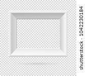 presentation rectangular... | Shutterstock .eps vector #1042230184