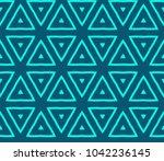 stylish geometric background.... | Shutterstock .eps vector #1042236145