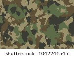 print texture military... | Shutterstock .eps vector #1042241545