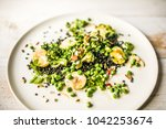food lunch meal plate | Shutterstock . vector #1042253674
