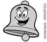 school bell cartoon... | Shutterstock .eps vector #1042257211