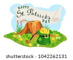 vector st. patrick's day poster ...