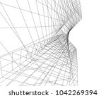 architecture design background | Shutterstock .eps vector #1042269394