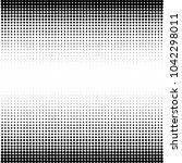 modern textured halftone on... | Shutterstock .eps vector #1042298011
