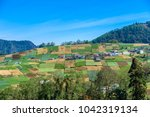 the highlands of guatemala ... | Shutterstock . vector #1042319134