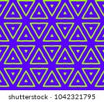 stylish geometric background.... | Shutterstock .eps vector #1042321795