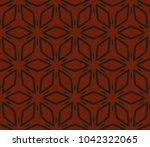 stylish geometric background.... | Shutterstock .eps vector #1042322065