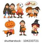 illustration of halloween...   Shutterstock .eps vector #104233721