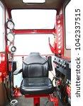 crane under maintenance routine ... | Shutterstock . vector #1042337515