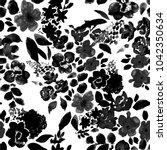 watercolor seamless pattern... | Shutterstock . vector #1042350634