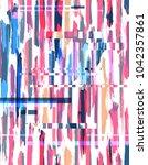 vector seamless abstract...   Shutterstock .eps vector #1042357861