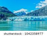 glacier in glacier bay  alaska | Shutterstock . vector #1042358977