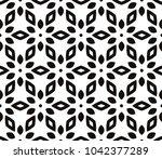 decorative seamless geometric... | Shutterstock .eps vector #1042377289