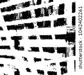 black and white grunge stripe... | Shutterstock . vector #1042402261