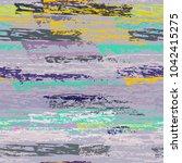 grunge stripes chalk vector... | Shutterstock .eps vector #1042415275